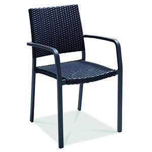 Silla Para Exterior Silla Con Estructura De Aluminio Diseno De Exteriores Comod Mobiliario Para Restaurante Mesas Para Restaurante Muebles Para Restaurantes