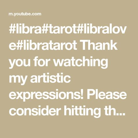 #libra#tarot#libralove#libratarot Thank you for watching my artistic expressions! Please consider hitting the like button and subscribing to my channel; it ...
