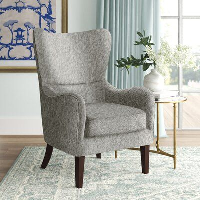 Alcott Hill Oday Wingback Chair Wayfair Ca In 2020 Wingback Chair Accent Chairs For Living Room Bedroom Seating Area