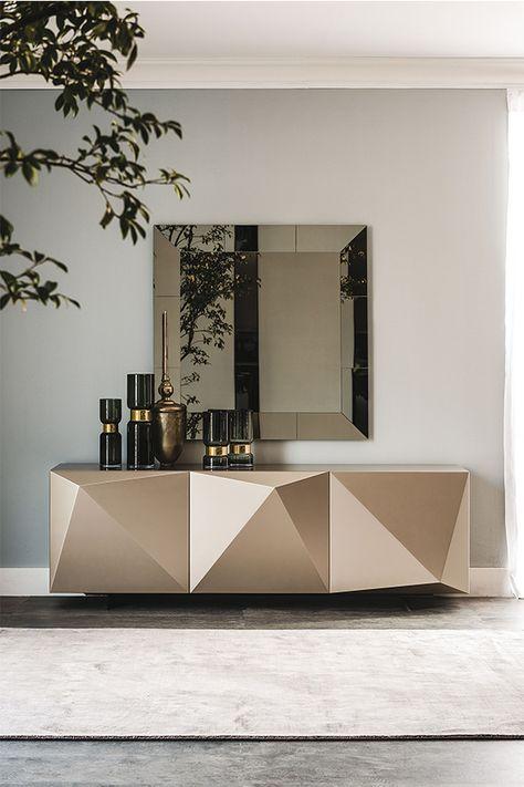 16 Wohnzimmer sideboard dekorieren modern