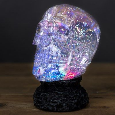 Color Changing Moving Water Skull Color Change Color Resin Crafts