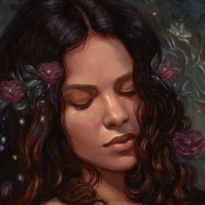 The Dark Side Art: Mia Araujo | Snow in summer, Art