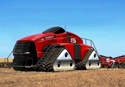 Case Ih 1000 Quadtrac Prototype Tractors Heavy Equipment Trucks