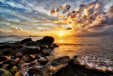 How much do I love the Carribean? LOADS! I want to go back there and spend more time… I took this on a very fun trip to Virgin Gorda where every night saw amazing sunsets and every day started with incredible sunrises. #TreyRatcliff #VirginGorda #Carribean #Sea #Sunset #Beach #Ocean #Rocks