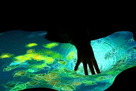 """sensible""  interactive installation"