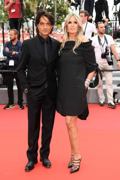 Tiziana Rocca and Giulio Base - The Most Stylish Celeb Couples on the Cannes Red Carpet - Photos