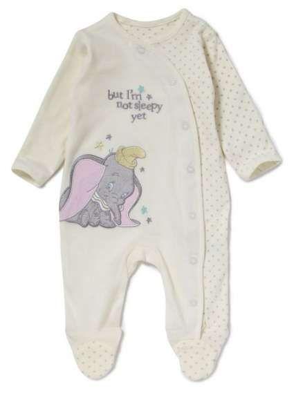 Disney baby clothes, Baby sleepsuit