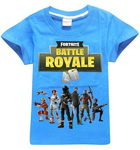 Zigjoy Fortnite Gaming Gamer Unisexe Cotton T Shirt Top Tee Pour Les Enfants 11 12 Annees T Shirt T Shirt Enfant Vetement Enfant