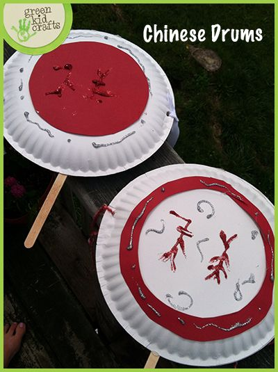 Check out this fun project of making a chinese drum!