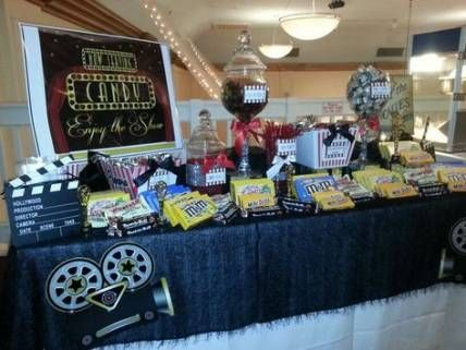 29 Ideas Party Themes Hollywood Candy Bars Party Candy Bar Fun Party Themes