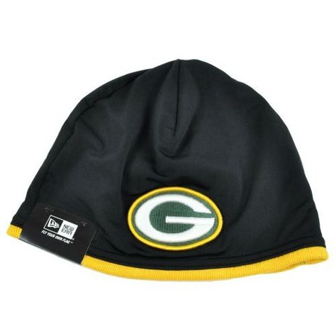 NFL Green Bay Packers Tech Knit Hat by New Era. Save 8 Off!. $24.95. 82% Nylon, 18% Spandex, 100% Acrylic Knit Lining. 82% Nylon, 18% Spandex. This New Era NFL On Field Collection Tech Knit features an embroidered Green Bay Packers team logo at front, a stitched New Era flag at wearer's left side and the NFL Shield embroidered on the back.