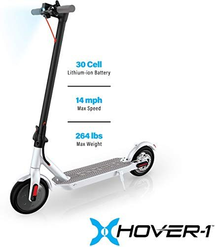 New Hover 1 Journey Electric Folding Scooter White Online