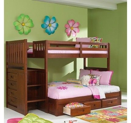Discovery World Furniture Merlot Twin Over Full Staircase Bunk Bed Acadia Stanford Viv Rae Kaitlyn En 2020 Lit Superpose Enfant Lits Superposes Avec Rangement Et Chambre A Coucher Bois