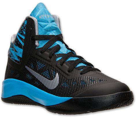 Nike Boys' Grade School Zoom Hyperfuse 2013 Basketball Shoes