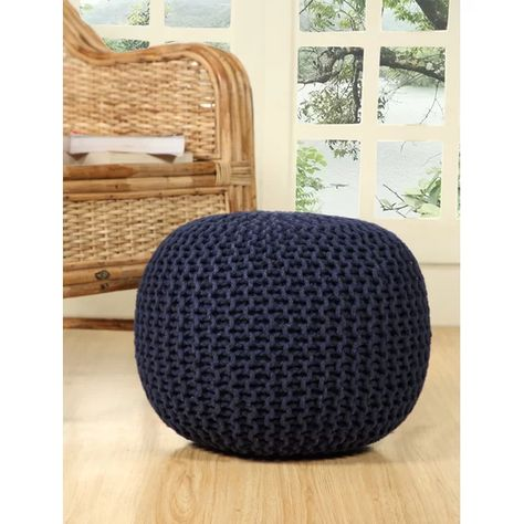 Garst Knitted Pouf