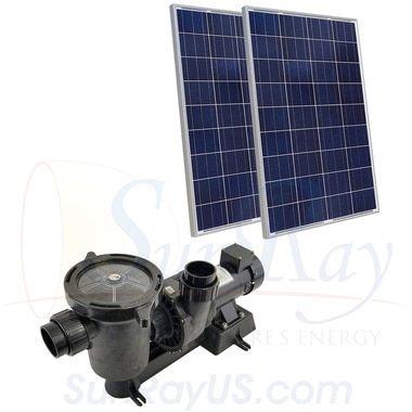 Sunray Solflo 0 Solar Powered Pool Pump Pool Pump Solar Pool Swimming Pool Heaters