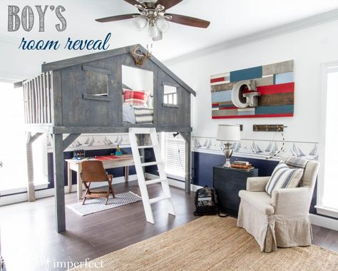 Boy's Room Reveal   perfectly imperfect