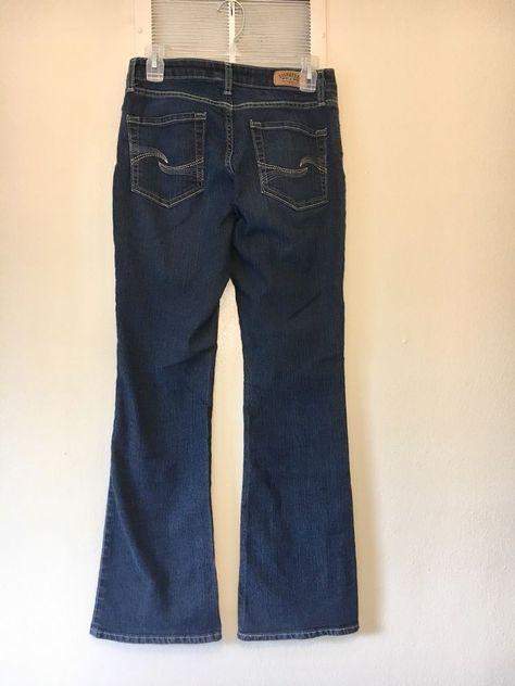 3c453bc3fec Women's Levi Strauss Signature Modern Bootcut Jeans - Size 4 M 27 X 30    eBay