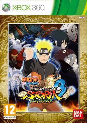 Naruto Shippuden Ultimate Ninja Storm 3 Full Burst Xbox 360 Naruto Games Naruto Shippuden Xbox