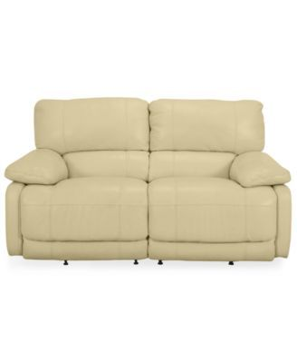 Awesome Power Loveseat Nina Leather Dual Power Reclining Avuydzu Pdpeps Interior Chair Design Pdpepsorg
