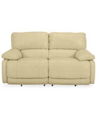 Swell Power Loveseat Nina Leather Dual Power Reclining Avuydzu Machost Co Dining Chair Design Ideas Machostcouk