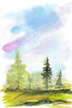 Simple Watercolor Painting Ideas28 Watercolor Art Watercolor