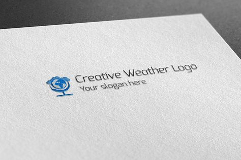 Creative Weather Logo , #AFF, #RGB#CMYK#vector#possibilities #affiliate