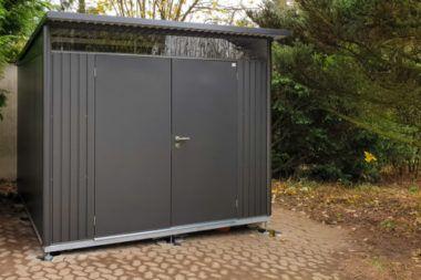 Projektbericht Unser Biohort Avantgarde Xxl Geratehaus Biohort Biohort Avantgarde Und Gartenhaus Metall