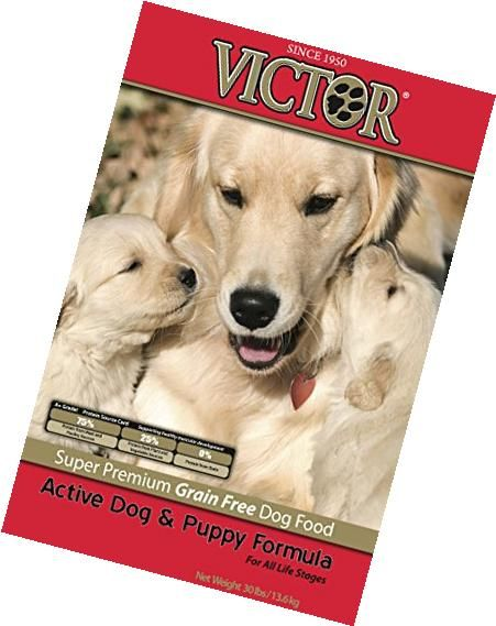 Victor Active Dog And Puppy Grain Free Dry Dog Food 30 Lb Bag