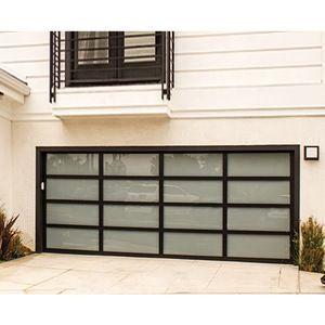 Source Low Price Residential Horizontal Aluminum Glass Sectional Garage Door On M Alibaba Com In 2020 Sectional Garage Doors Garage Doors Folding Doors