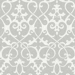 Nu1699 Ironwork Grey Peel And Stick Wallpaper Wallpops By Brewster Nuwallpaper Grey Wallpaper Wallpaper Samples