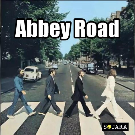 custom cut and patched Abbey  Road T-shrits  by SOJARA.  Every band available.
