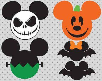 Disney Halloween Etsy Disney Halloween Decorations Disney Halloween Disney Pumpkin