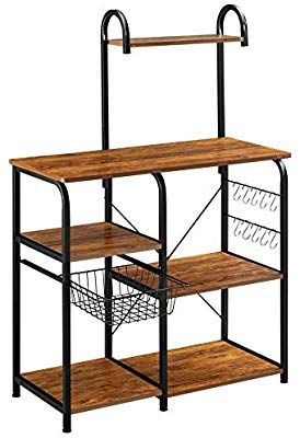 Mr Ironstone Vintage Kitchen Baker S Rack Utility Storage Shelf