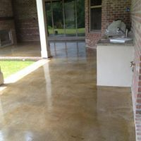 The Best Stained Concrete In The Lafayette Baton Rouge La Area
