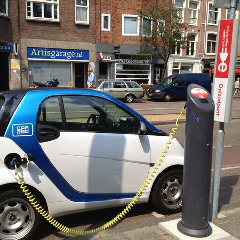 Tesla Electric Car Amsterdam Alternative Energy Cars Pinterest