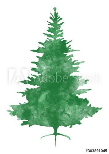 Abstract Christmas Tree Isolated On White Background Sponsored Tree Christmas Abstract Background White Ad In 2020 White Background Abstract Background