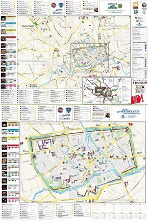 Treviso Tourist Map