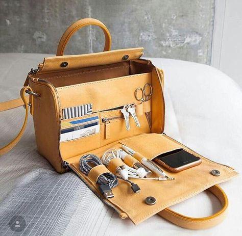 Brenice Women Solid Cosmetic Handbag Capacity Bag Multifunction Crossbody Bag is Cute-NewChic Mobile