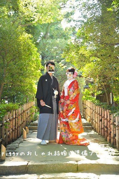 華雅苑 和装前撮りレポ 色打掛 ポーズ撮影編 和装 前撮り 結婚