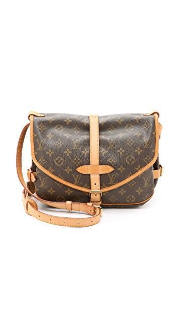 fc15149967c What Goes Around Comes Around Louis Vuitton Monogram Saumur 30 Bag  (Previously Owned)