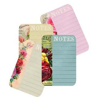 free notecards/seed packets