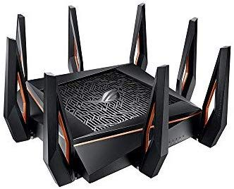 Asus Rog Rapture Gt Ax11000 Ax11000 Tri Band 10 Gigabit Wifi Router Aiprotection Lifetime Security By Trend Micro Aimesh Compati Wifi Router Trend Micro Asus