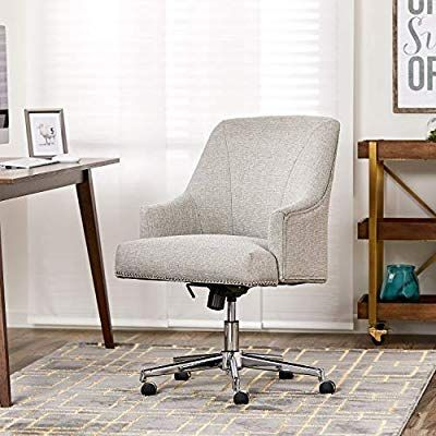 Amazon Com Serta Style Leighton Home Office Chair Bonded Leather
