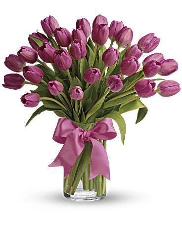 Precious Pink Tulips Bouquet Pink Tulips Bouquet Tulip Bouquet Flower Arrangements