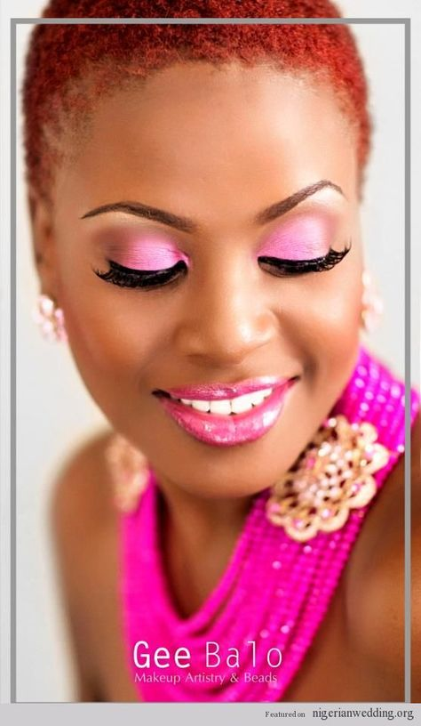 Nigerian wedding coral beads and jewelry by Gee Balo