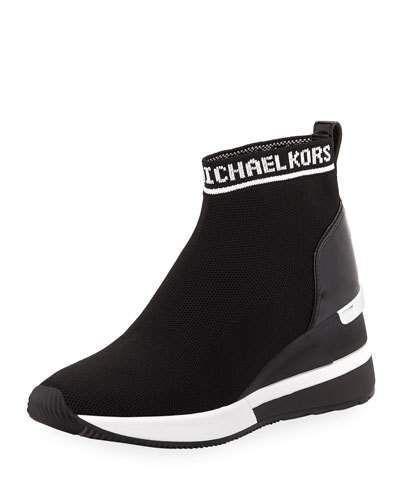 michael kors sneaker bootie