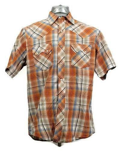Wrangler Men's Western Medium Shirt