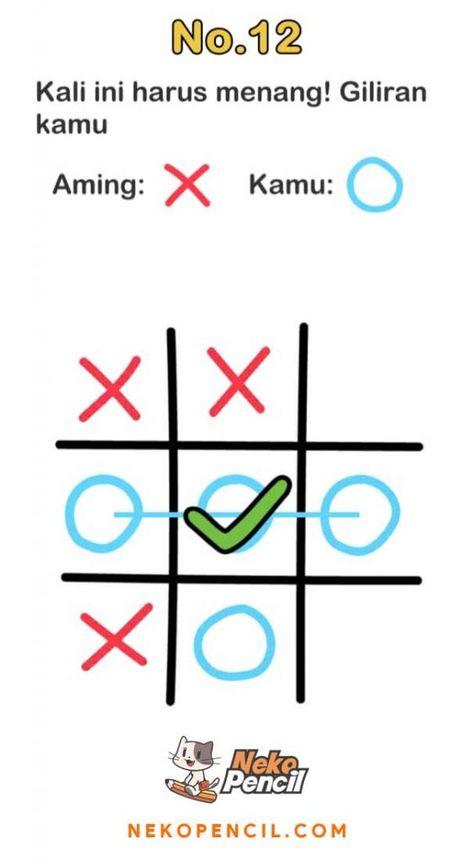 Kunci Jawaban Asah Otak : kunci, jawaban, Kunci, Jawaban, Brain, Level, Lengkap, Terbaru, Nekopencil, Otak,, Matematika