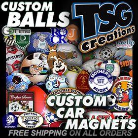 Time To Order Custom Soccer Balls Basketballs Decals Car - Custom car magnets decals